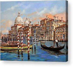 Canal Acrylic Prints