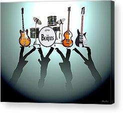 Rocks Beatles Acrylic Prints