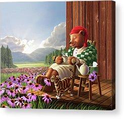 Porch Acrylic Prints