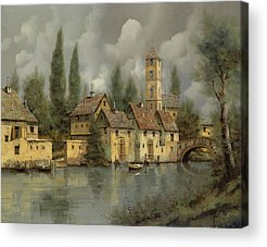 River Boat Acrylic Prints