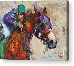 Contemporary Horse Acrylic Prints