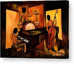 Jazz Acrylic Prints