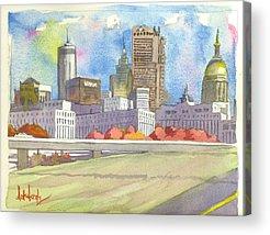 Cities Acrylic Prints