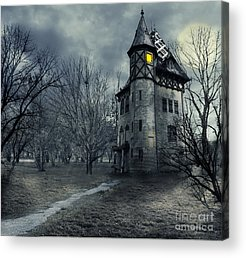 Haunted Acrylic Prints