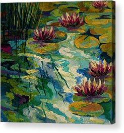 Water Lily Acrylic Prints