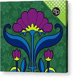 Fleurs Acrylic Prints
