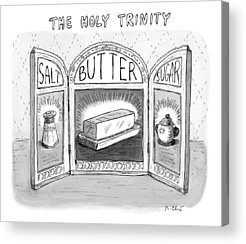 Butter Acrylic Prints
