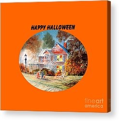 Designs Similar to Happy Halloween by Bill Holkham