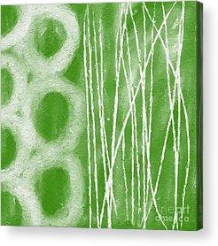 Green Grass Acrylic Prints