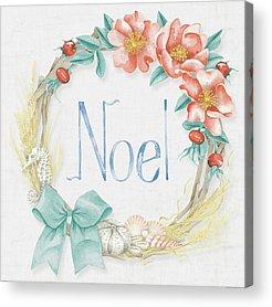 Christmas Flowers Acrylic Prints