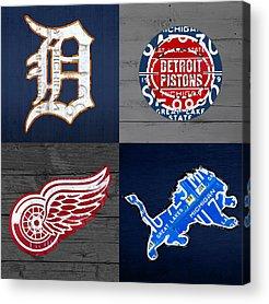 Detroit Acrylic Prints