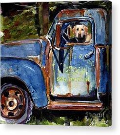 Old Truck Acrylic Prints
