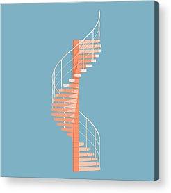 Brutalist Architecture Acrylic Prints