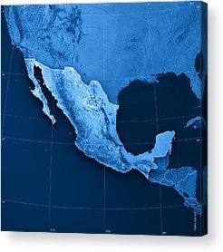Yucatan Acrylic Prints