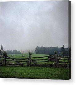 Blue Ridge Parkway Acrylic Prints