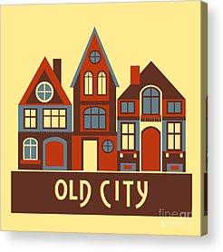Town Centre Acrylic Prints