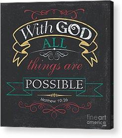 Bible Acrylic Prints
