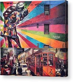 Urban Acrylic Prints