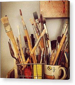 Brush Acrylic Prints
