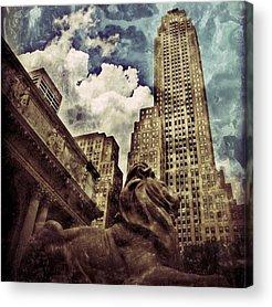Newyork Acrylic Prints