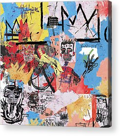 Basquiat Acrylic Prints