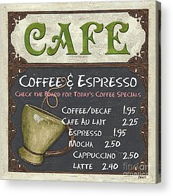 Cafe Acrylic Prints