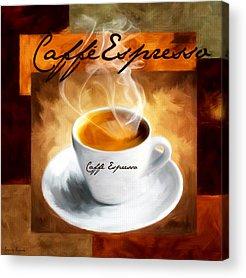 Hot Coffee Acrylic Prints