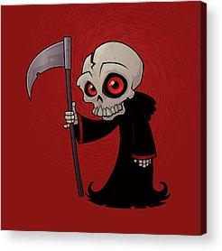 Recently Sold -  - Halloween Acrylic Prints