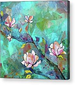 Magnolia Acrylic Prints