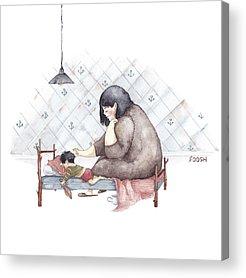 Illustration Acrylic Prints