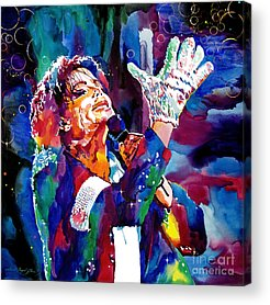 Michael Jackson King Of Pop Acrylic Prints