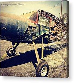 Antique Aircraft Acrylic Prints