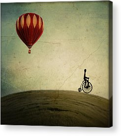 Hot Air Balloon Acrylic Prints