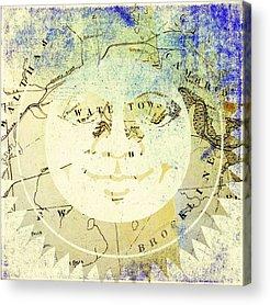Sun Acrylic Prints