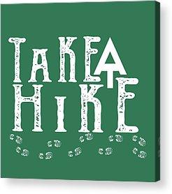 Hike Acrylic Prints