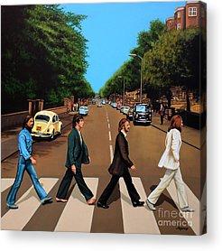 Rock Ringo Music Acrylic Prints