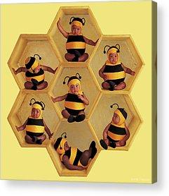 Hive Acrylic Prints