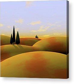 Rolling Hills Acrylic Prints