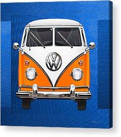 Vw Transporter Acrylic Prints