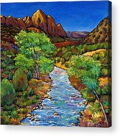 Mountain Stream Acrylic Prints