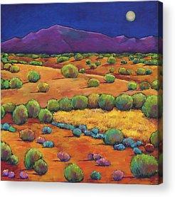 Hill Acrylic Prints