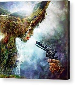 Mother Earth Acrylic Prints