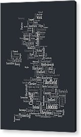 Great Britain Acrylic Prints