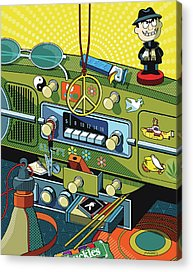 Sixties Acrylic Prints