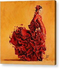 Karina Acrylic Prints