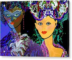 083 - The Colours Of A Summer Night    Acrylic Print by Irmgard Schoendorf Welch