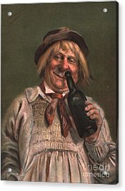 1890s Uk Expressions Smell Drunks Acrylic Print by The Advertising Archives
