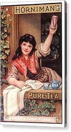 1890s Uk Tea Horniman�s Acrylic Print by The Advertising Archives