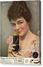 1910s Usa Talc Talcum Powder Jonteel Acrylic Print by The Advertising Archives