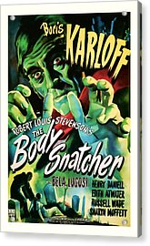 1945 The Body Snatchers Vintage Movie Art Acrylic Print